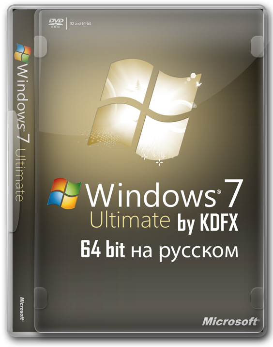 Windows 7 Ultimate 64 bit SP1 на русском