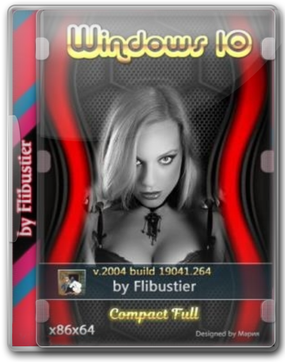 Windows 10 X64_x86 Pro Compact rus 2004 by Flibusrtier