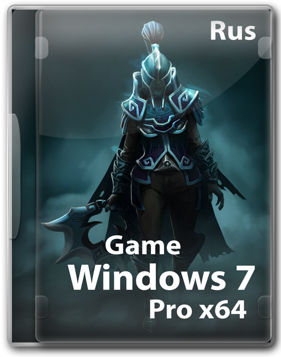 Windows 7 Professional Game OS 64 bit by Cuta